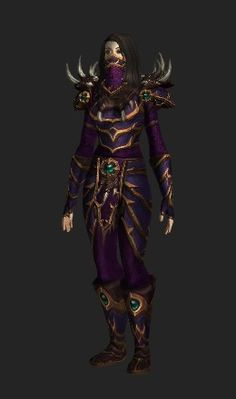 Like the face mask Rogue Transmog, World Of Warcraft, Rogues, Hero, Face, Fictional Characters, The Face, Fantasy Characters, Faces