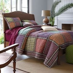 Leila Quilt | The Company Store (guest room)