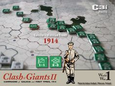 Clash of Giants II - I have the first game but have not had the opportunity to try this one. #wargaming #boardgames #GMTGames