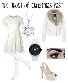 """The ghost of christmas past"" by l4riss4 ❤ liked on Polyvore featuring Hue, Glamorous, Lauren Lorraine, Bling Jewelry, Nixon, women's clothing, women's fashion, women, female and woman"