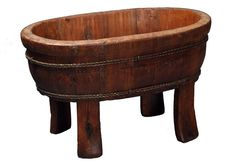 $83Natural Chinese Style Oval Sink by Antique Revival   www.homesav.com