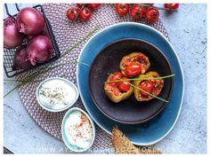 Gefuellte Paprika tuerkisch mit Hackfleisch und Reis Jamie Oliver, Breakfast, Food, Morning Coffee, Meals, Morning Breakfast