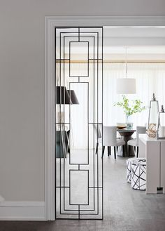 Sometimes front doors can be a little exciting, but usually the doors inside your house are just boring, utilitarian slabs of wood. But that doesn't have to be the case. Here are 11 interior doors (and doorways) with a little pizazz, to make getting from one room to another a truly unique experience.