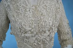 Image detail for -... Irish Crochet blouse dating to early 1900s | Carolyn Forbes Textiles