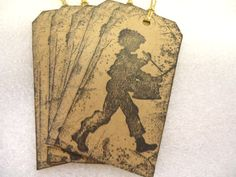 Check out this item in my Etsy shop https://www.etsy.com/listing/207376372/drummer-boy-christmas-cardboard-tags-20