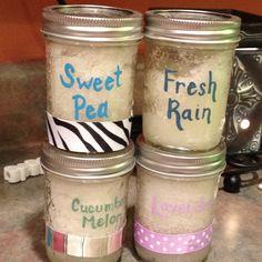 Homemade sugar scrub!!