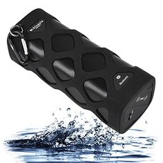 Special Offers - Wireless Bluetooth Speaker (Waterproof Shockproof Dustproof & Anti-scratch) Powerful Sound with Built in Microphone Works for Iphone Samsung and Mp3 Smart Devices. Black New 2015 Model!  - In stock & Free Shipping. You can save more money! Check It (July 22 2016 at 03:45PM)…