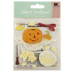 <div>Pumpkin carving has never been this cute! Imagine the adorable projects this collection wil...
