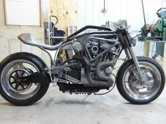 Custom Buell S1 Lightning - The buck for the aluminum gas tank is finished