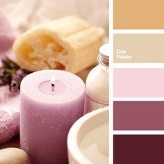 Bedroom Paint Color Schemes and Design Ideas Paint Color Schemes, Colour Pallette, Color Combos, Deco Rose, Bedroom Paint Colors, Color Balance, Color Swatches, Corporate Design, Beige Color