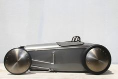 This is the pedal car I'd want if I were an eight year old. Well, if I were an eight year old with $12,000.