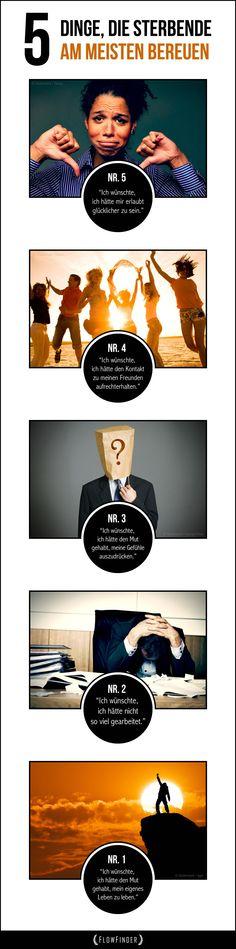 5 Dinge, die Sterbende am meisten bereuen