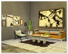 Sims 4 CC's - The Best: The Bubbles Coffee - and End Table by KSimbleton