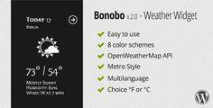 Bonobo Weather Widget Plugin Visita https://themefreestore.com/bonobo-weather-widget-plugin/ #FreePremiumWordPressWidgets, #FreeWordPressPlugins Free Premium WordPress Widgets, Free WordPress Plugins  #Plugin, #Plugins, #Weather, #Widget, #Widgets, #Wordpress plugin, plugins, weather, widget, widgets, wordpress