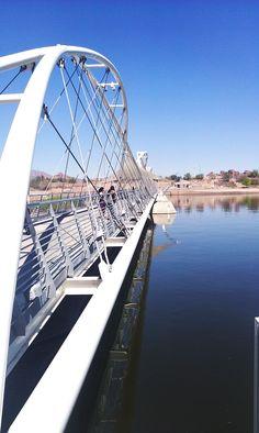 Tempe Town Lake Pedestrian Bridge  Tempe, AZ 3/22/2012