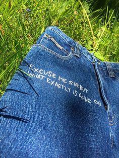 becreativespace / ADHD nohavice - MINDLESS Adhd, Jeans, Fashion, Moda, La Mode, Fasion, Fashion Models, Jeans Pants, Trendy Fashion