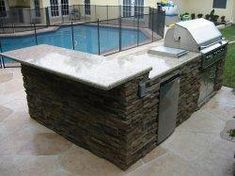 """Excellent """"built in grill patio"""" information is available on our website. Read more and you wont be sorry you did. Diy Grill, Barbecue Grill, Grilling, Stainless Steel Hood, Grill Area, Built In Grill, Backyard, Patio, Outdoor Kitchen Design"""