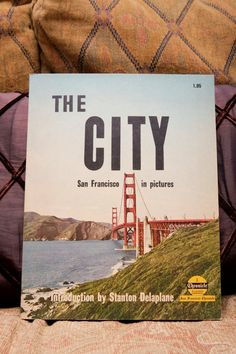 """Vacation Books: """"San Francisco in Pictures"""" 1961 