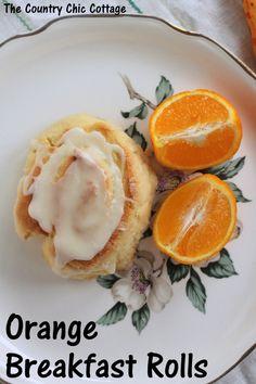 Orange Breakfast Rolls Recipe