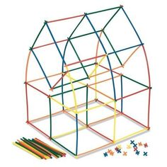 Straw Structures - Team Building Challenge Team Building Challenges, Team Building Exercises, Team Building Activities, Projects For Kids, Diy For Kids, School Projects, Diy Bird Toys, Build A Better World, Price Sticker