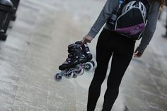 Roller blades for women are a type of exercise that improves the agility and the flexibility of the women. There is nothing amazing than rollerblading on the boardwalk in the ambient sunshine, as y. Roller Derby, Roller Skating, Ice Skating, Gogo Tomago, Trekking, Film Big, Stephanie Brown, Vs The World, Scott Pilgrim