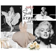 """Marilyn Monroe...♥"" by ornellav on Polyvore"