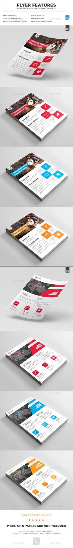 Corporate Flyer Design Bundle - Corporate Flyers Template PSD. Download here: http://graphicriver.net/item/corporate-flyer-bundle/16921669?ref=yinkira