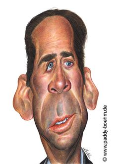 Nicolas Cage Caricature Paddy Boehm greatest love is his caricatures and apparently he is a Great Musician as well.