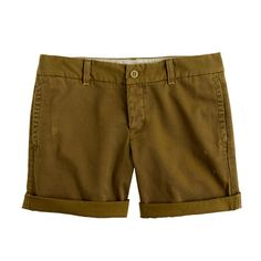 Okay, so I gotta buy these Broken-in boyfriend chino shorts. They look pretty darn perfect.
