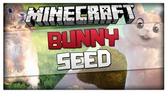 Minecraft 1.8.1 Seed - RABBITS and NPC Village at spawn! Minecraft Bunny...