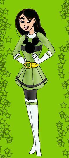 Green Disney Ranger Mulan by ~HighwindDesign on deviantART