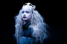 The Force by Tomaas Beautiful Asian Girls, Beautiful Children, Hair In The Wind, Vintage Goth, Queen Photos, Shadow Art, Fantasy Photography, Art Challenge, Tumblr Girls