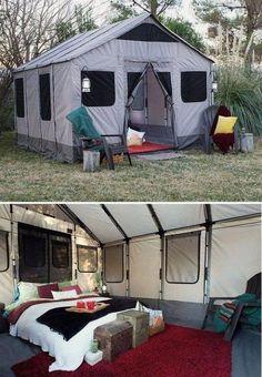 Safari Tent for Camping! Safari Tent for Camping!