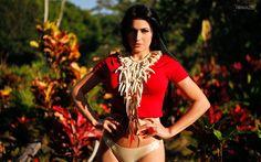 Tatiane Barros cunhã-poranga do Boi Garantido defende com louvor as virtudes da mulher amazonense, veja!