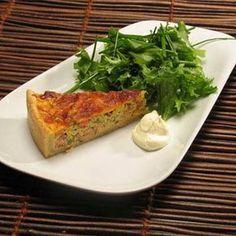 Lohipiirakka Quiche, Breakfast, Food, Morning Coffee, Essen, Quiches, Meals, Yemek, Eten