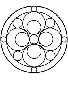 Mandala Drawing, Mandala Painting, Mandala Art, Mandala Coloring, Colouring Pages, Circle Quilt Patterns, Stained Glass Patterns Free, Graphic Design Lessons, Dot Art Painting