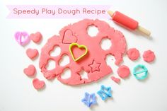 Super Speedy Play Dough - Little Button Diaries Craft Activities, Toddler Activities, Crafts For Kids To Make, Kids Crafts, Christian Kids, Messy Play, Easy Video, Play Dough, School Fun
