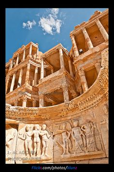 Sabratha , Libya #travel #vacation #rentals www.goldsuites.com Ancient Ruins, Ancient Rome, Ancient Artifacts, Ancient History, Archaeological Site, Ancient Architecture, Classical Architecture, Ancient Civilizations, Roman Empire