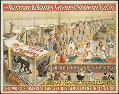 The Barnum & Bailey greatest show on earth : The world's grandest, largest, best, amusement institution. | by Boston Public Library