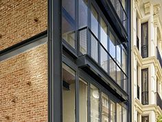 detail on pinterest facades technical drawings and architecture