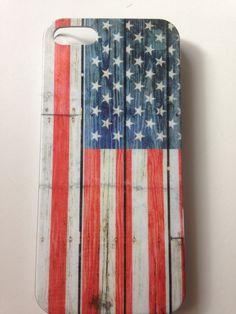 Etui dla IPhone 5 z flagą amerykańską.