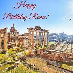 2769 years of beauty...Happy birthday you beautiful lady!#rome #natalediroma #italy