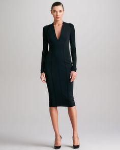 Black Donna Karan dress