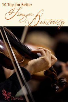 10 Tips For Better Finger Dexterity http://www.connollymusic.com/stringovation/better-finger-dexterity-tips @revellestrings