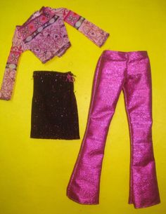 Barbie Clothes Lot FASHION DESIGNER 3pc Set 2000 | eBay