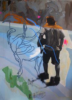 Currently on View in July @ Hillyer Art Space in Washington, DC. El Dorado- Deborah Anzinger.