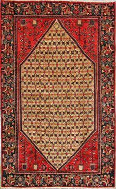 Buy Hamadan Persian Rug x Authentic Hamadan Handmade Rug Persian Rug, Bohemian Rug, Oriental, Old Things, Carpet, Rugs, Handmade, Stuff To Buy, Persian Carpet
