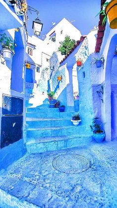 Chefchaouen - the beautiful blue City. Places To Travel, Places To See, Ville France, Blue City, Morocco Travel, Dom, Belle Photo, Travel Around The World, Wonders Of The World