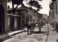 Αθήνα - Πλάκα  1920  -  Athens, Plaka, 1920