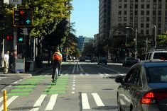 It turns out that protected bike lanes are fantastic for walking safety, too | PeopleForBikes